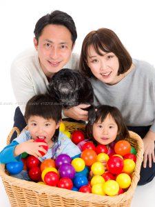 撮影スタジオの写真 ご家族